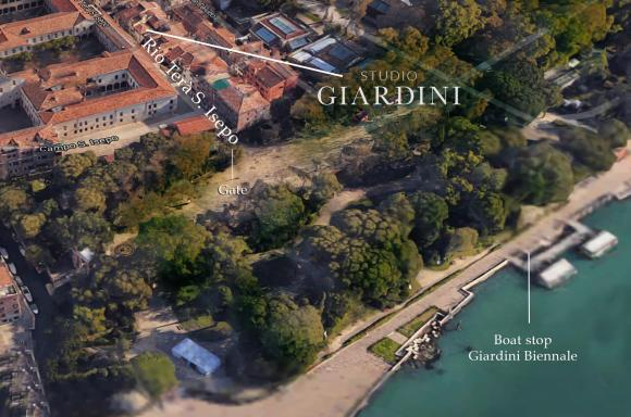 Studio Giardini and Giardini projects, on the heterotopic island of Venice, was initiated 2019 as a platform to host dinners, smaller exhibitions, book projects and performative work at irregular basis.