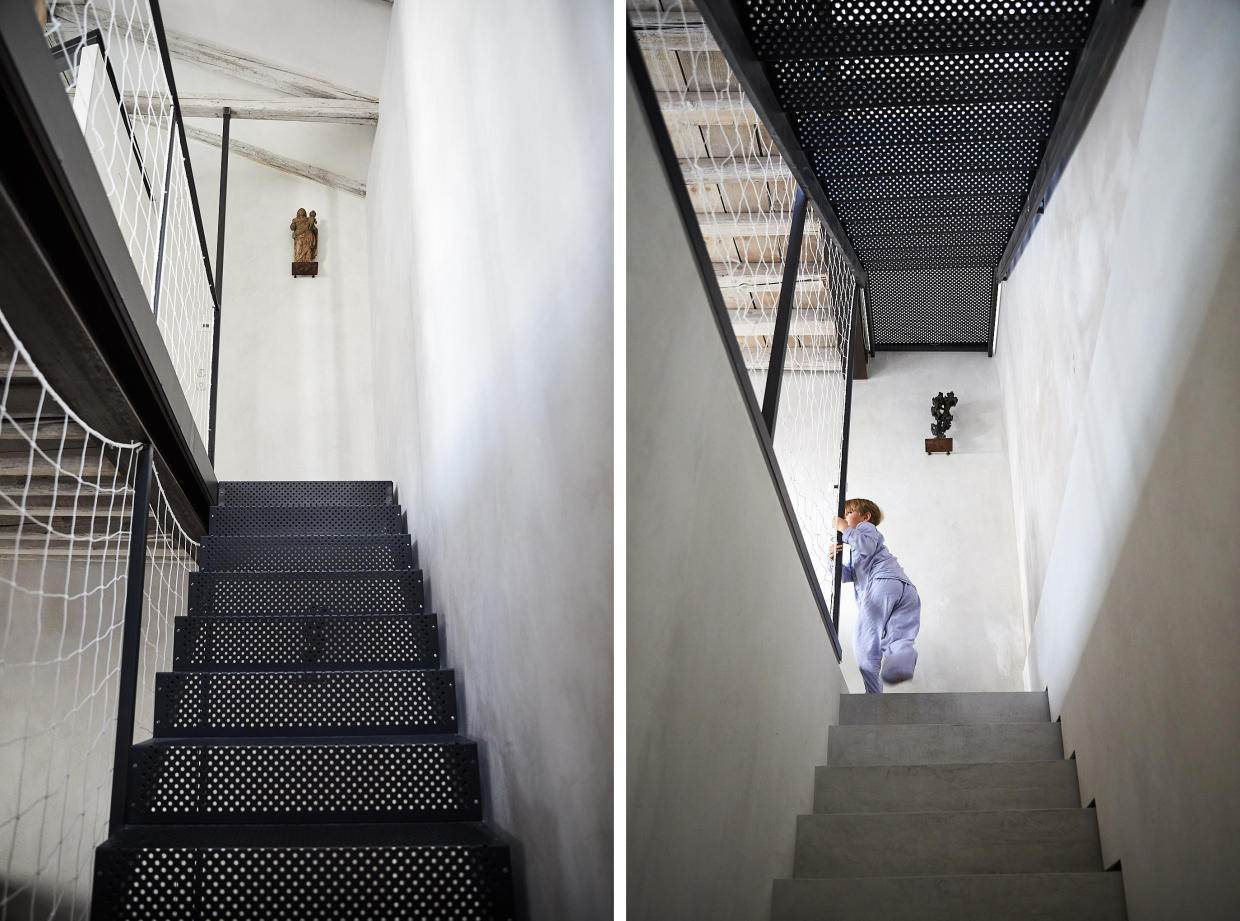 Studio Giardini townhouse staircases. Photo by Paulina Westerlind