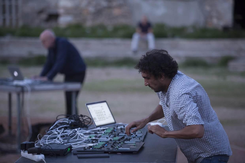 Tarek Atoui part of Giardini Projects at Studio Giardini in Venice